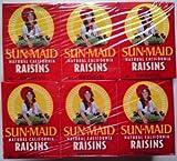Sun Maid Raisins Cartons - 24 x 42.5gm
