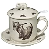Brown Bear Covered Infuser Mug