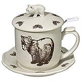 Brown Bear Covered Infuser Mug