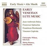 Early Venetian Lute Music