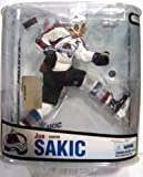 McFarlane NHL Series 18: Joe Sakic 3 in White Jersey - Colorado Avalanche at Amazon.com