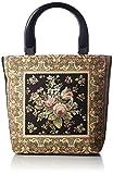 [アートバロック] ハンドバッグ イタリア製ゴブラン生地使用 1610-6415 クロ ブラック