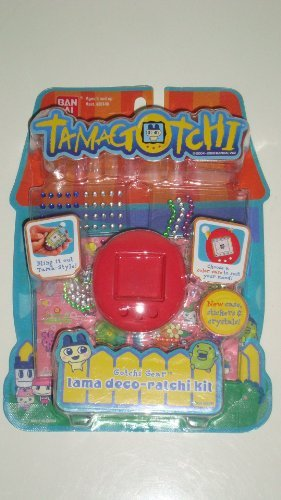 Tamagotchi Connection V 5 Tamagotchi Deco-ratchi Kit - New Skin Color and Violetchi Stickers - 1