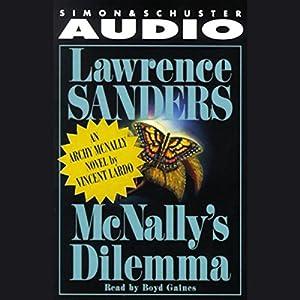 Lawrence Sanders' McNally's Dilemma Audiobook