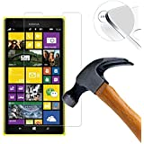 Lukoo® Tempered Glass Hartglas Schutzfolie für Nokia Lumia 1520 Premium Screen Folie Protector Ultra Hart Displayschutz 0,3mm clear 2.5D