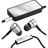 AKG K391NC High-Performance Noise-Cancelling In-Ear Headphones with In-Line Microphone and Digital Active Noise Cancellation