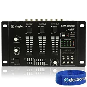 Skytec STM 3020B Lightweight Professional 6 Channel DJreviews and more information