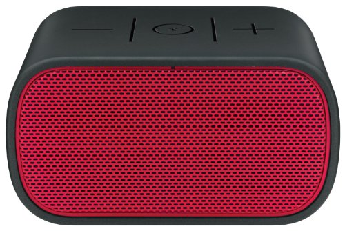Logitech UE 984-000295 Mobile Boombox Bluetooth Speaker and Speakerphone (Red Grill/Black)