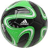 *Adidas BRAZUCA Glider Football (Black/Green, 5)