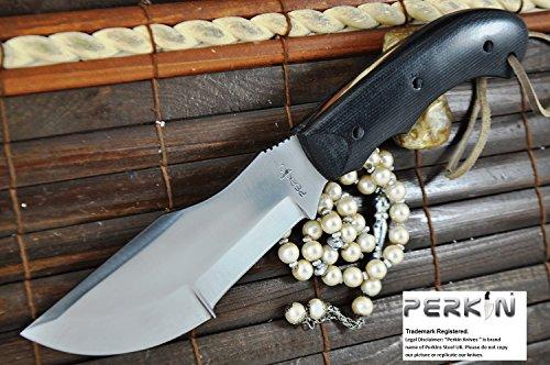 SALE. Custom Handmade Hunting Knife -Micarta Handle- Beautiful Camping Knife