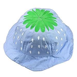 Bestpriceam (TM) Kid Child Girl Accessory Baby Lovely Strawberry Sweet Candy Bucket Hat by Bestpriceam