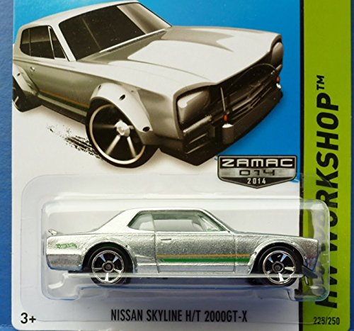 2014 Hot Wheels Hw Workshop Zamac Exclusive - Nissan Skyline H/T 2000GT-X - 1