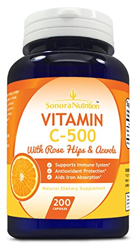 Sonora-Nutrition-Vitamin-C-with-Rose-Hips-and-Acerola-500-mg-200-Capsules