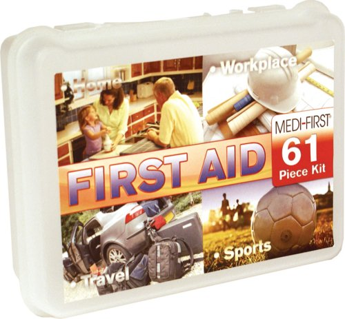Medique 40061 First Aid Kit, 61-Piece