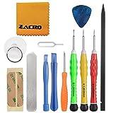 Zacro 13 IN 1携帯修理ツール 分解、修理、交換用ツールキット スマホ用工具 修理ツールセット プロフェッショナル 精密ドライバー Apple iPhone 4 / 4S / 5 / 5C / 5S / 6 / 6 Plus (GSM/CDMA) / 6S / iPad 4 / 3 /2 / Mini, iPodsなど