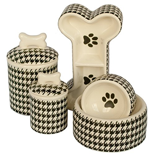 Creature-Comforts-Houndstooth-Treat-Jar-Small