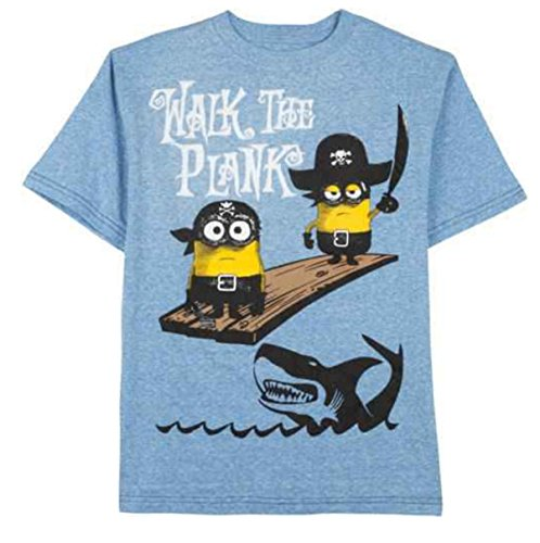 Despicable Me Minion Pirataes Walk the Plank Graphic Tee Boys