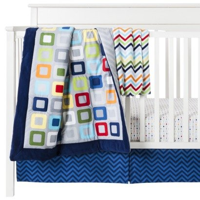 Circo® Geo Boy 4pc Crib Bedding Set - 1
