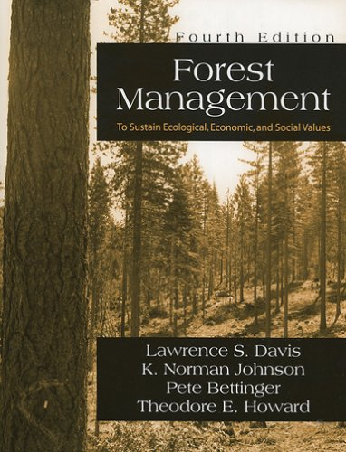 Forest Management: To Sustain Ecological, Economic, and...