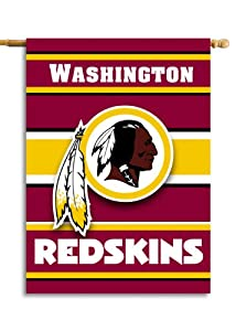 NFL Washington Redskins 2-Sided 28-by-40-Inch House Banner by Fremont Die