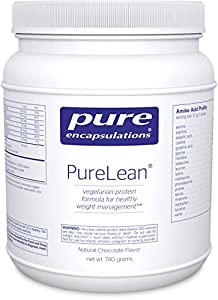 Pure Encapsulations - PureLean Protein Blend Chocolate Flavor - Vegetarian Protein for Healthy Weight Management* - 740 Grams