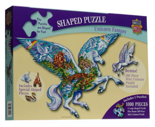 Cheap MasterPieces Unicorn Fantasy Jigsaw Puzzle 1000pc (B00008YSMB)