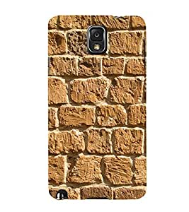 Beautiful Rock Wall 3D Hard Polycarbonate Designer Back Case Cover for Samsung Galaxy Note 3 N9000 :: Samsung Galaxy Note 3 N9002 :: Samsung Galaxy Note 3 N9005 LTE