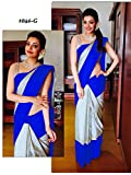 jainam multi colour saree