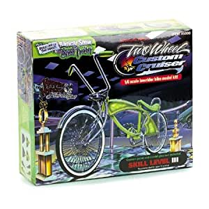 Custom Cruiser Low Rider Lowrider Bike Bicycle Model Kit: Toys & Games