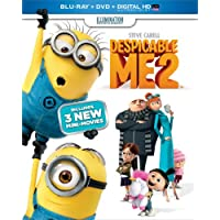 Despicable Me 2 (Blu-ray + DVD + Digital HD UltraViolet)