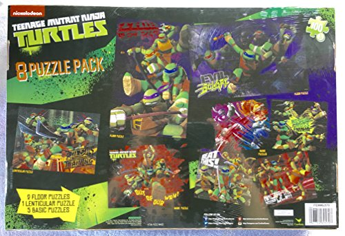 Teenage Mutant Ninja Turtles Jigsaw Puzzles 8 Pack