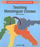 Teaching monolingual classes /