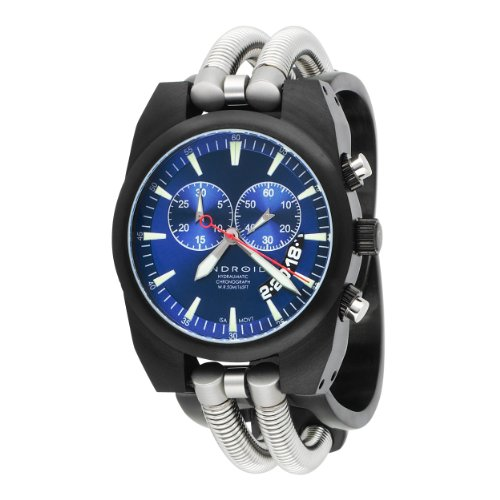 Android Men's AD430BKBU Hydromantic Chrono Blue Dial Watch