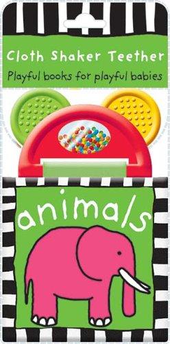 Cloth Shaker Teether Animals