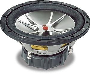 """Kicker CompVR 05CVR124 12"""" subwoofer with dual 4-ohm voice coils"""
