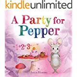 A Party for Pepper: A Hazelwood Forest Counting Book for Kids (English Edition)
