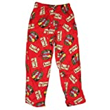 "Beavis and Butthead (MTV Cartoon) Mens Micro Fleece Pajama Pants (Lounge Sleep Pant) -""Christmas is Cool!"" All Over (Medium) ~ IN MY PARENTS BASEMENT"