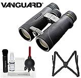 Vanguard ED 8420 Endeavor 8x42 Binocular (Black) + Vanguard Binocular Harness + Deluxe 5-in-1 Cleaning Kit