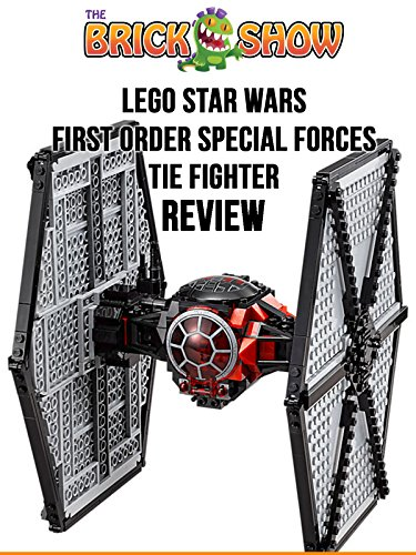 Review: Lego Star Wars First Order TIE Fighter Review