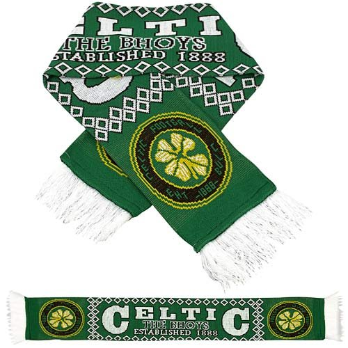 Celtic Team Scarf