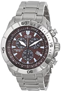 Citizen Men's AT0810-55X Stainless Steel Eco-Drive Watch