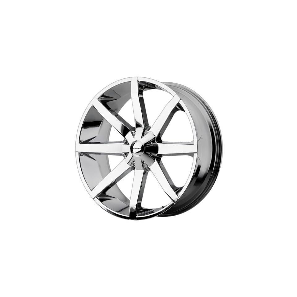 26x10 KMC Slide (Chrome) Wheels/Rims 6x135/139.7 (KM65126067228
