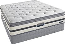 Hot Sale Simmons Beautyrest Recharge Queen Classic Plush Firm Pillow Top Mattress and Boxspring Set