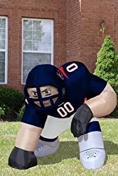 Huge 5' NFL Houston Texans Lineman Inflatable Outdoor Yard Decoration