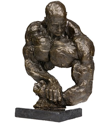 Top-Bronze-Abstract-Bronze-Sculpture-Muscle-Man-Art-Deco-Stronger-Brass-Sculpture-TPY-153