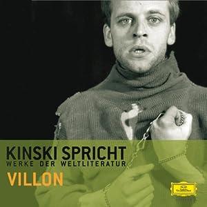 Kinski spricht Villon Hörbuch