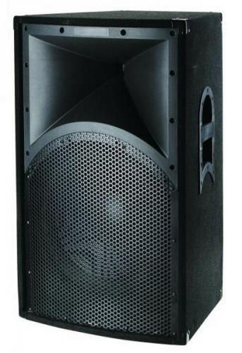 Ibiza SPX15 Satelliten-Lautsprecher, Schwarz