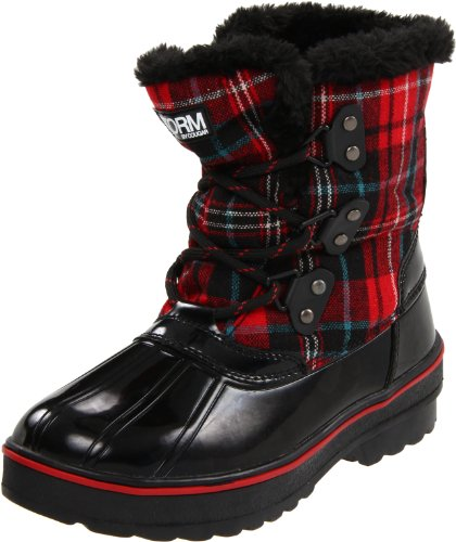 Cougar Women's Alpen Snow Boot,Black/Red,11 M US