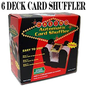 How do casino automatic card shufflers work