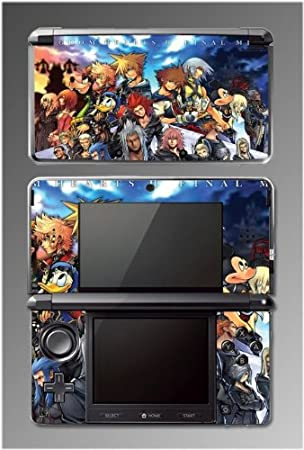 Kingdom Hearts Sora Goofy Mickey Mouse Minnie Donald Duck Game Vinyl Decal Cover Skin Protector Kit #3 for Nintendo 3DS